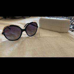 Chloe Sunglasses Black Frame Ernie CL2222